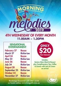 Bacchus Marsh Golf Club - Morning Melodies 2019