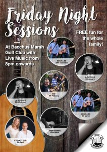 Live Music - Friday Night Sessions