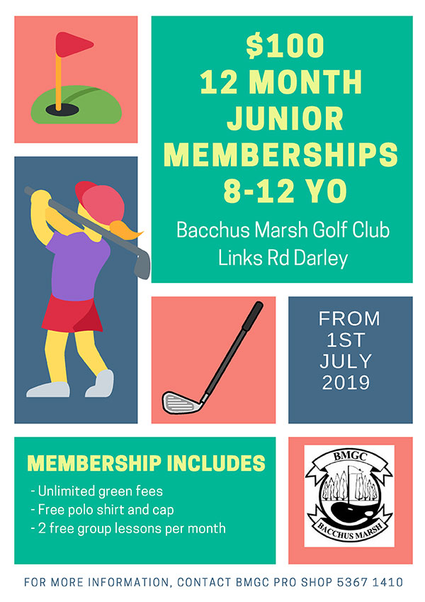 Junior Girls Golf Memberships