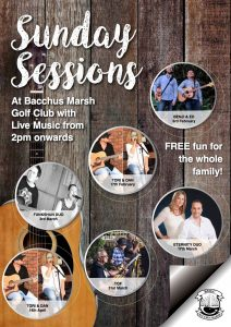 Live Music - Sunday Sessions