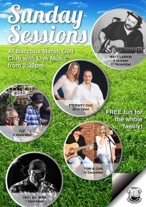BMGC - Sunday Live Music Sessions