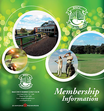 Golf Membership Brochure