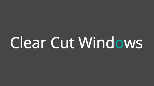 Sponsor - Clear Cut Windows